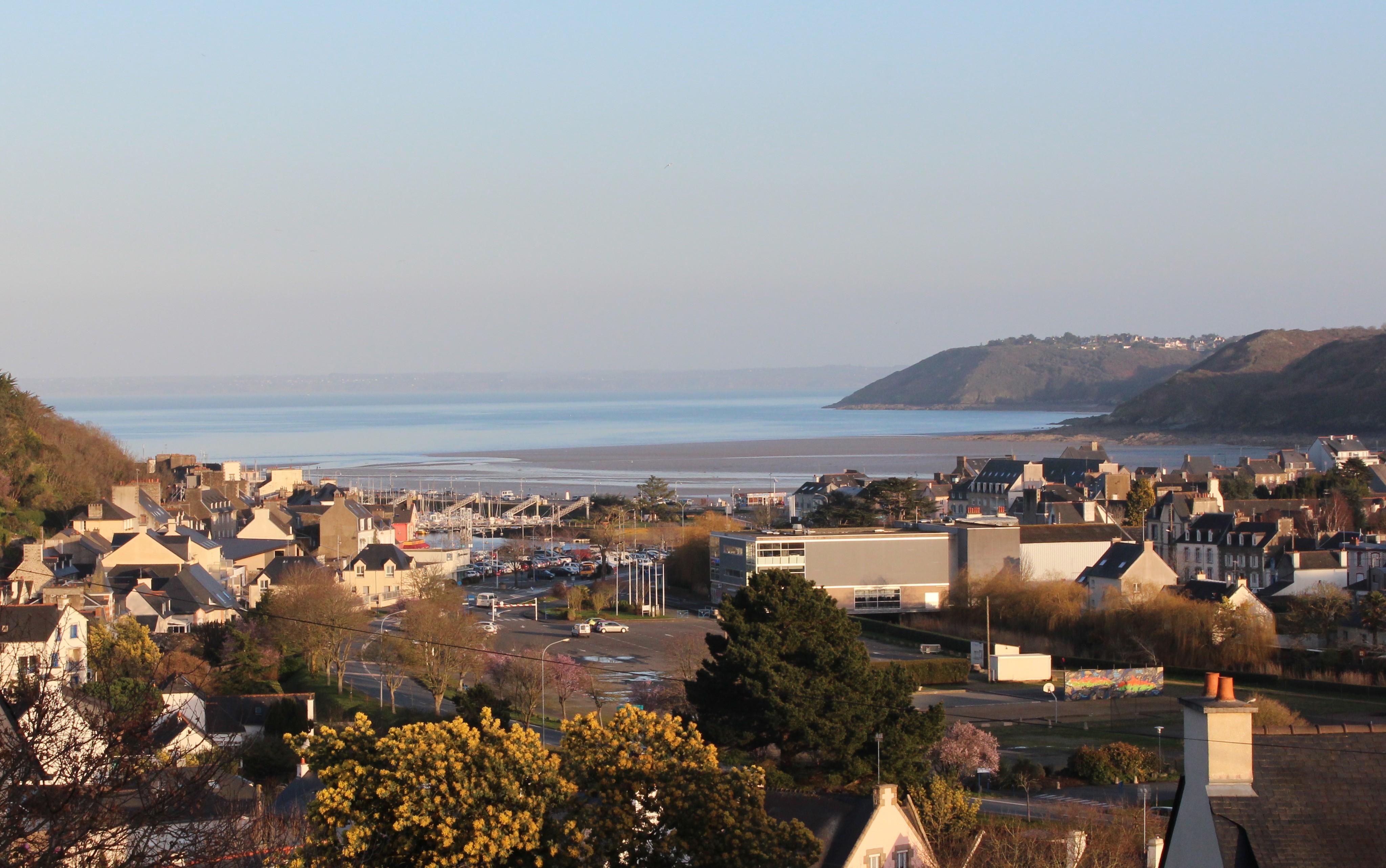 Gwel Meur, location Binic vue imprenable sur mer